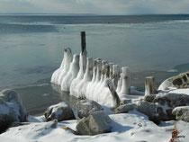 Zima nad Bałtykiem, fot. Zeggeria