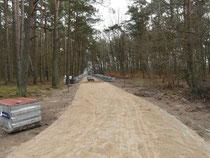 Już wkrótce będą z tej drogi korzystać mieszkańcy i wynajmujący noclegi.