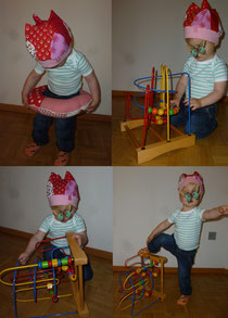 Krönchen Mütze für Mädchen