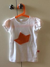 Shirt mit Faltboot