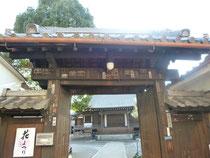 観音寺の門