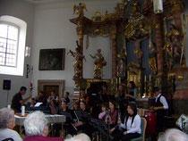 """""""Pfeffer, Salz & Sahne"""" in der Spitalkirche in Ebern in Aktion"""