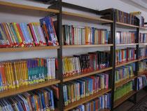 Blick in die Schulbibliothek