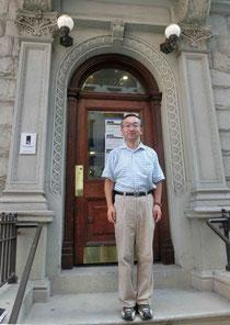 2013年8月、マンハッタンのリードの生家で。