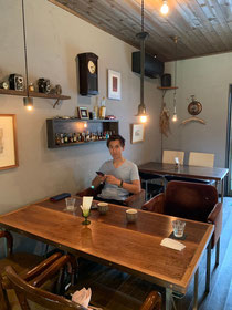 益子焼き陶芸家のカフェ/栃木県