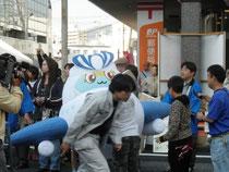 そらっぴー、岩国祭りデビュー!!