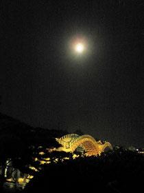 9月19日中秋の名月 錦帯橋