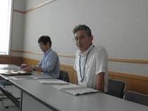 「夢プラン」について語る藤中主幹