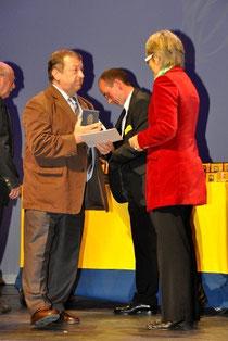 Sektionsleiter Franz Krenn - Sportlandesrätin Dr. Petra Bohuslav