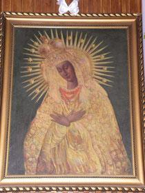 Obraz Matki Bożej Ostrobramskiej w Szufnarowej