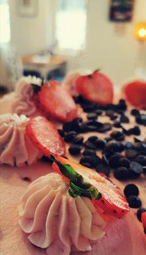Erdbeer Joghurt Sahne