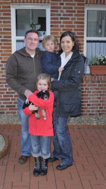 Familie Krömer mit Bodhi...