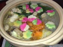 彩麩入り鍋