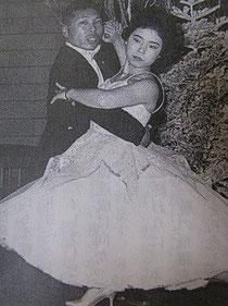 ダンスを始めた20代前半。社内報で紹介された