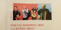 Étienne Boisdron trio et Daniel Mille