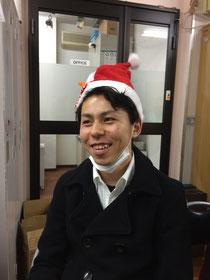 Xmasプレゼントの帽子