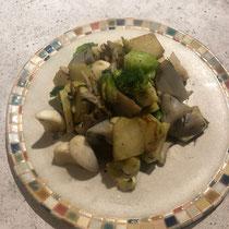 いろいろ野菜の塩麹炒め
