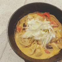 根菜たっぷりカレースープ