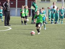 Tom Bettenhausen nimmt den Ball ins Visier