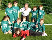Trainer Jörg Erfurth mit unseren Bambinis
