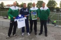 Matthias Schmelz, Marco Fladrich, Martin Hoischen und Bernd Pommer