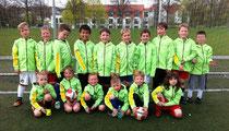 die erfolgreichen F-Junioren