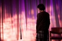 『不眠普及』(撮影:脇田友 アトリエ劇研 2016年)