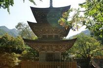 信州は上田市にある真言宗智山派の古刹、前山寺