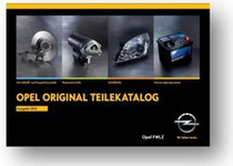 OPEL Original Teilekatalog 2013/2014