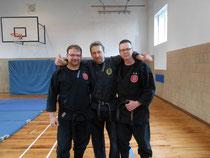 Carsten, Steffen und Uli