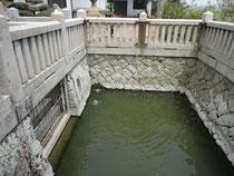 産宮神社 の瑞井(みずい)