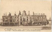 La Gare d'Arras où Marcel fut affecté en 1918 (la photo date de 1916)