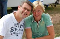 Kassandra mit Ehemann Holger, der sie und unseren Verein rundum unterstützt!