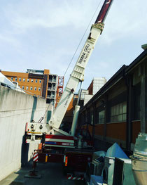 Rimini gru autogru per montaggio gru edile a Cesena