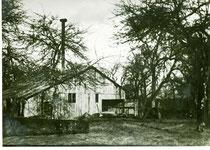La deuxième scierie installée aux Forges en 1938.