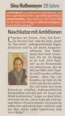"""Artikel aus dem """"Düsseldorfer Express"""" September 2010"""