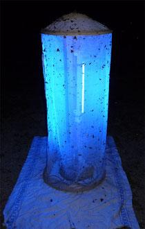 Leuchtturm zum Anlocken der Nachtaktiven Insekten