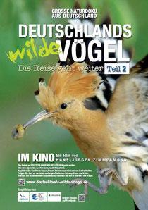 """Plakat zur Kinofilm """"Deutschlands wilde Vögel Teil 2 - die Reise geht weiter"""""""