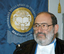 Umberto Eco – By Università Reggio Calabria [GFDL (http://www.gnu.org/copyleft/fdl.html) or CC-BY-SA-3.0 (http://creativecommons.org/licenses/by-sa/3.0/)], via Wikimedia Commons