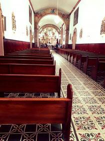 Interior templo nuestra señora de la candelaria