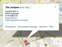Geschäftseintrag in google maps