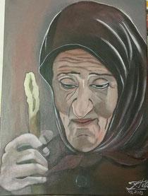 """""""Alte Frau aus Rumänien"""""""