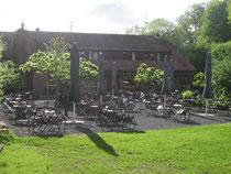 Dammühle Biergarten Marburg