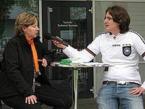 Interview auf der ÖKT-Bühne 2010