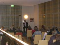 Lesung in Frankfurt 2007