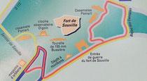 Karte der Anlage