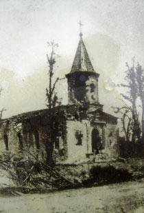 Kirche während des Krieges