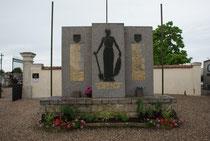 Friedhof Jarny - Gedenkstein für die Opfer des Holocaust