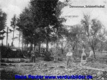 Der Friedhof im Juni 1916