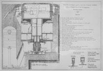 Plan des Panzerturms